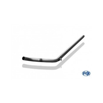 Tube de suppression de silencieux avant inox pour Volkswagen Golf II